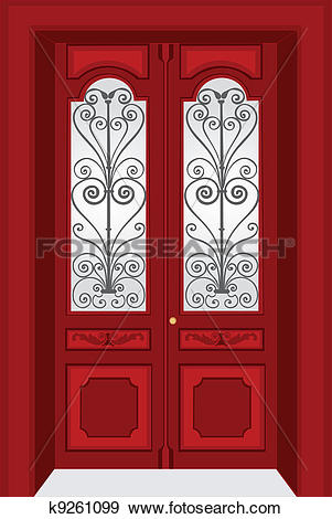Antique Door Clipart Clipground