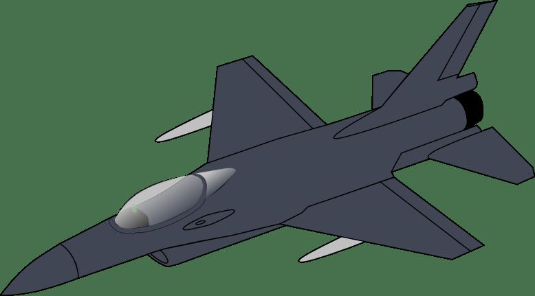 Art 16 Clip Fighter F Jet