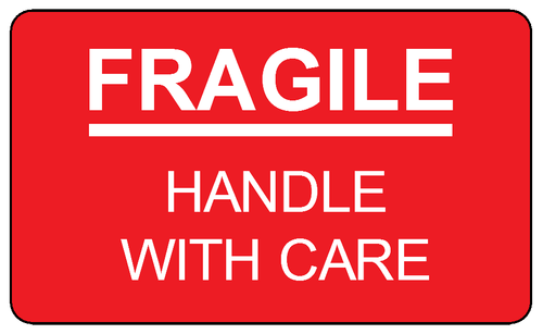 fragile label clipart - Clipground