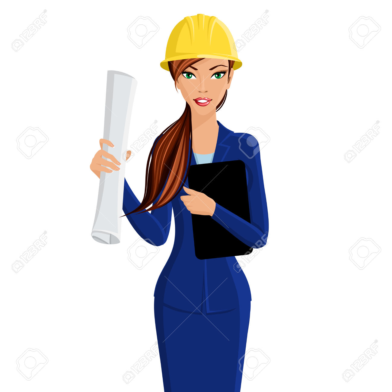 Girl Civil Engineer Clipart Clipground