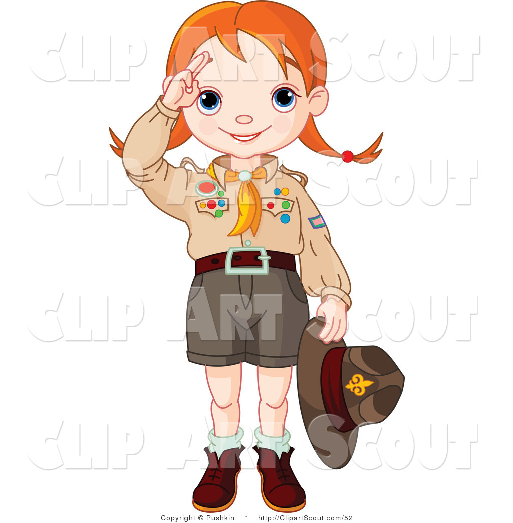 Boy Scout Salute Clip Art