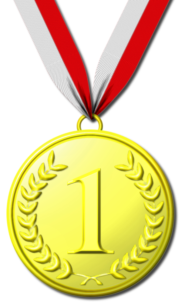 Gold medal clipart - Clipground