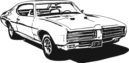 Clipart Car Muscle Free