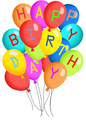 Free Clipart Images Birthday Balloons Clipground