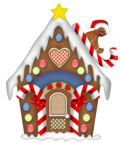 Santas Workshop Gingerbread House Clipart 20 Free Cliparts