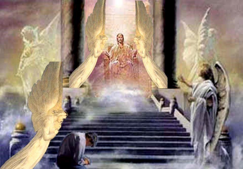 Christ Sitting Throne