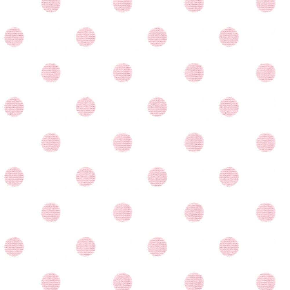 Pale Pink Polka Dot Background
