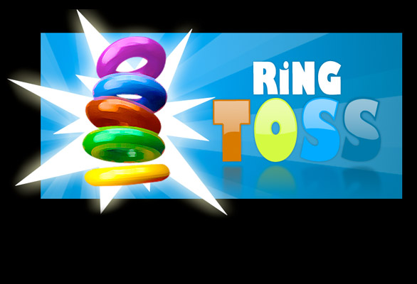 Carnival Ring Toss Clip Art