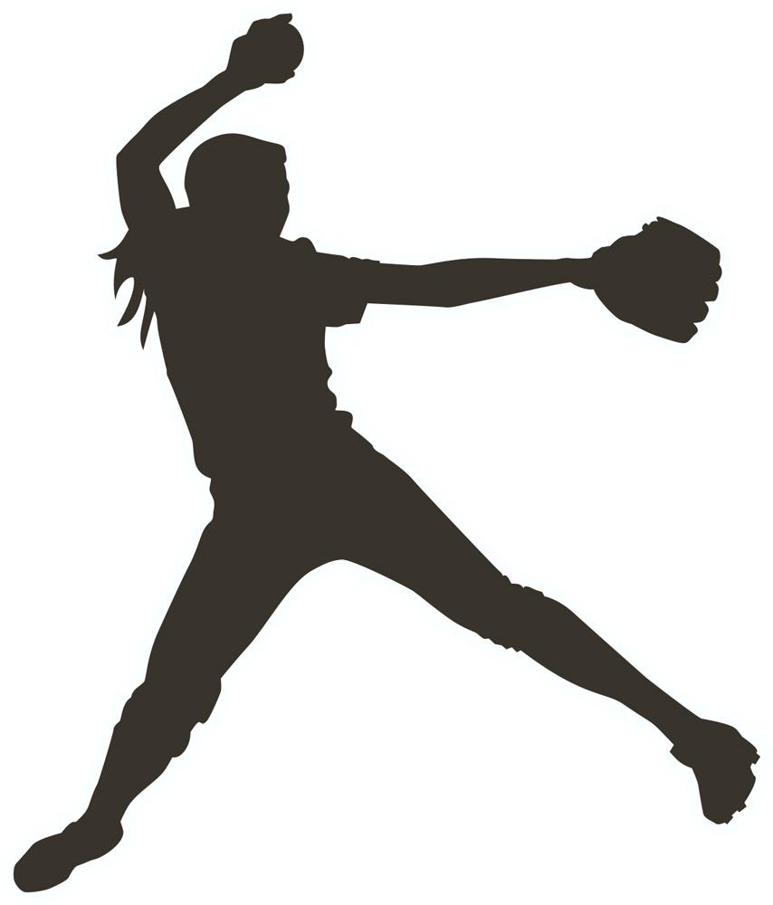 Pitching Baseball Clip Art