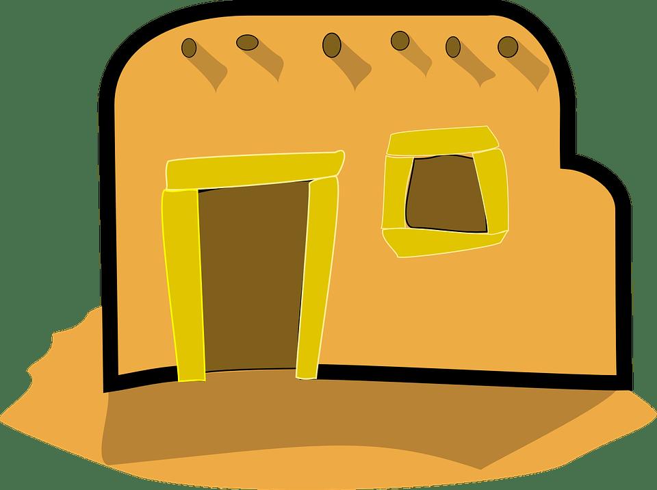 Adobe Clip Home Art Aztec