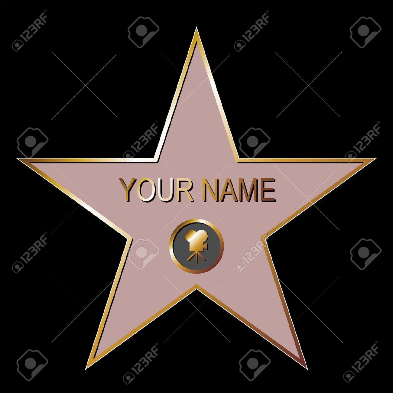 Hollywood Art Star Clip