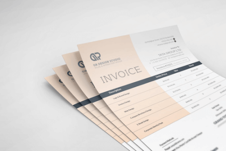 Invoice Like A Pro  Design Examples and Best Practices     Smashing     Invoice Template