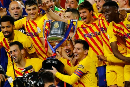Messi Fires Barca To Cup Final Win Over Athletic Bilbao | Reuters