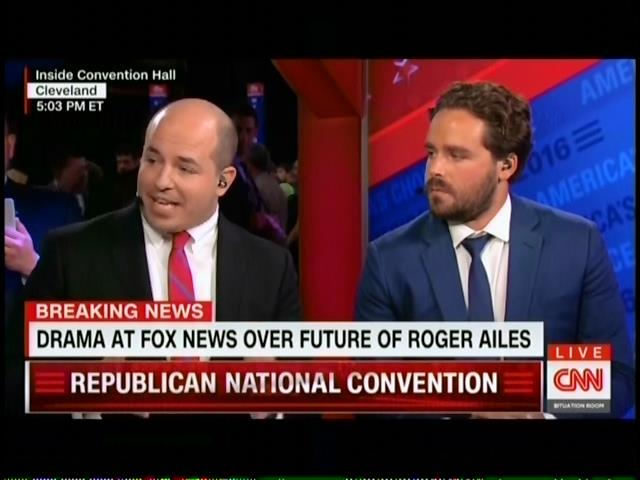 CNN's Stelter And Byers Report On Fox News Boss Roger ...