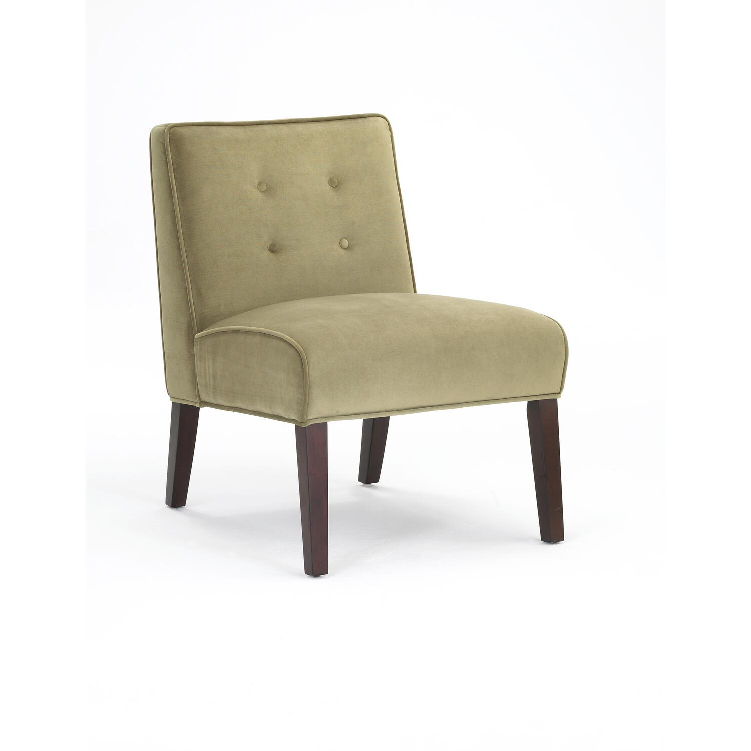 Small Armless Accent Chair