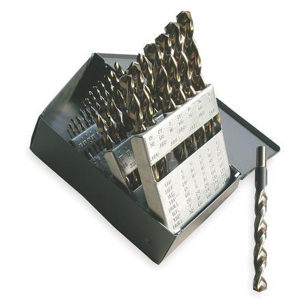 Cle-Line Jobber Drill Set, 3/8 Shank, 29 PC, HSS C18718 ...
