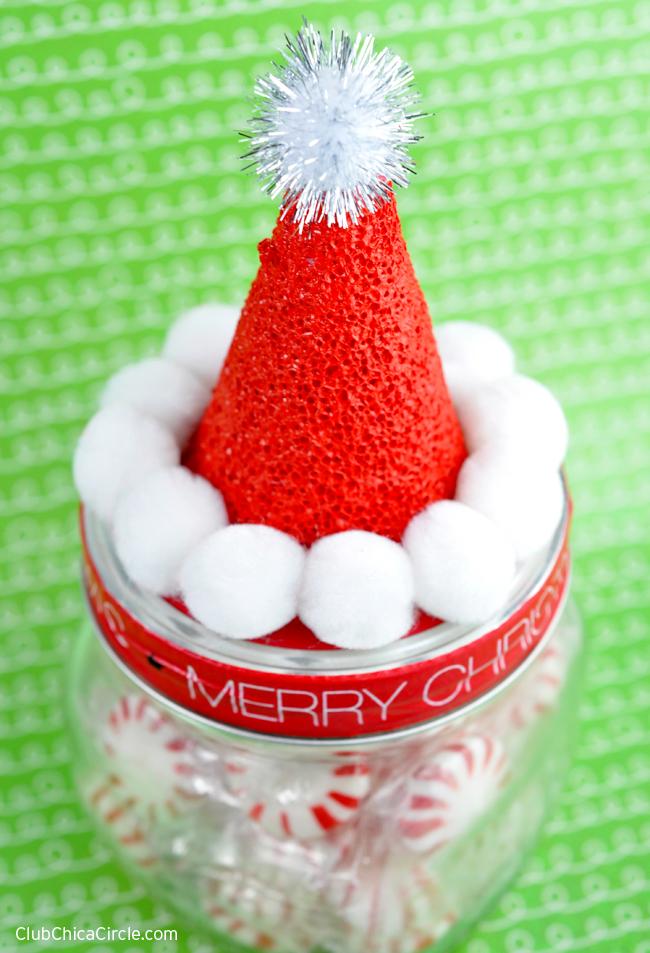 Elf Christmas Mason Jars