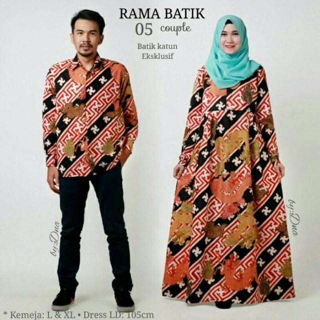 30 Model Gamis Batik Untuk Umroh Fashion Modern Dan Terbaru