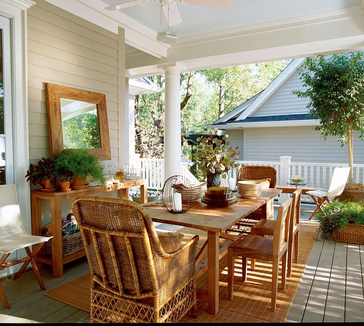 20 Summer Porch Decorating Ideas Inhabit Zone