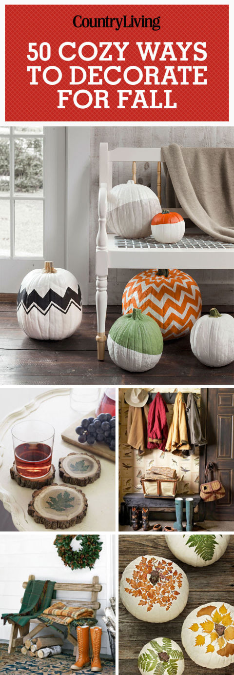 Cozy Ways to Decorate Your Home for Fall