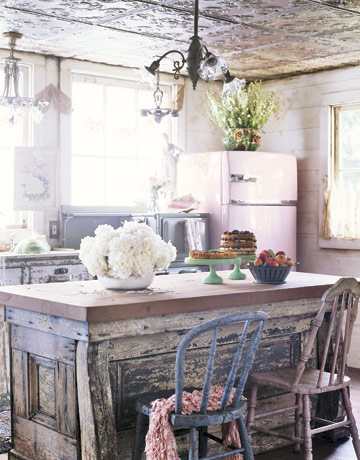 12 Shabby Chic Kitchen Ideas - Decor and Furniture for ...