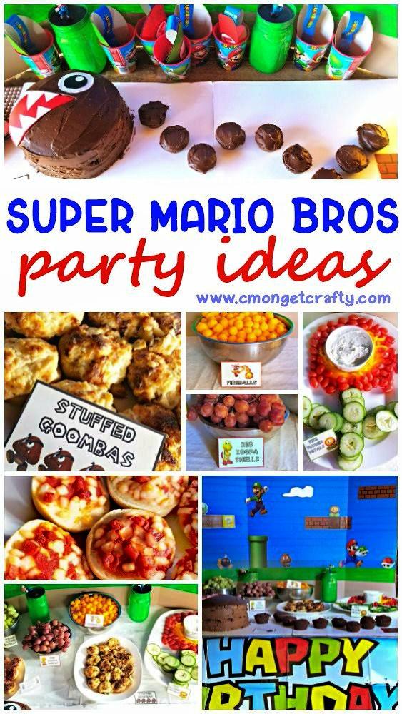 Super Mario Party Ideas And Free Printables C Mon Get