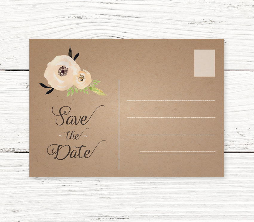 Create Your Save Date Cards