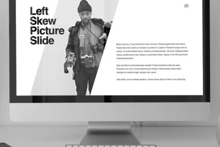 15  Best Keynote Presentation Templates  For Mac Users  Kaspian Modern Keynote presentation template for Mac