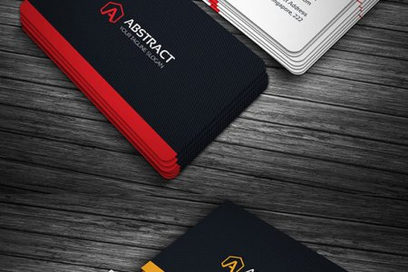 15 Premium Business Card Templates  In Photoshop  Illustrator     Abstract Illustrator AI Business Cards