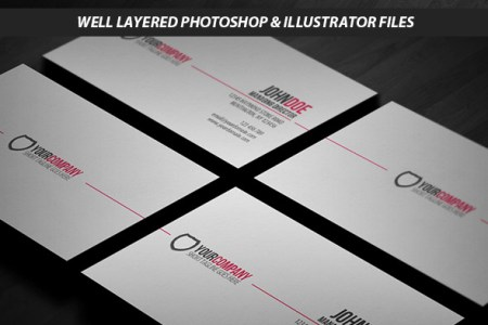 15 Premium Business Card Templates  In Photoshop  Illustrator     Simple AIVector Format Business Card Template