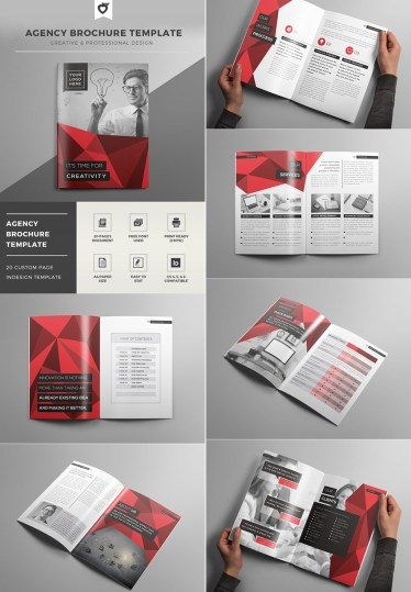 creative brochure design templates 20 Best InDesign Brochure Templates     For Creative Business Marketing