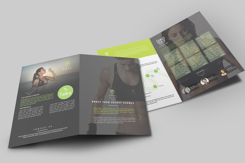 20 Best InDesign Brochure Templates   For Creative Business Marketing InDesign brochure template on Envato Elements