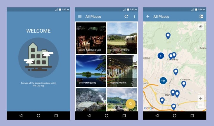7 Android Templates to Inspire Your Next Project Data is stored locally on the user s phone  so the app is fast and  responsive  But there is also an integrated admin back end  so you can  update the