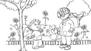 sid the science kid coloring pages # 6