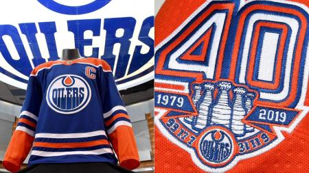 oilers bring back blue jerseys to celebrate 40th anniversary