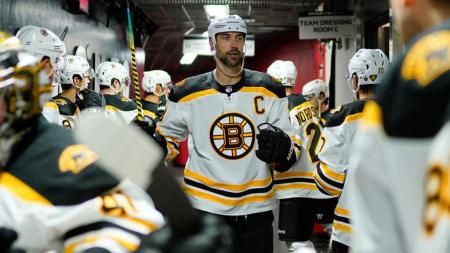 Chara: 'I Want To Stay In Boston. I Want To Be A Boston Bruin'