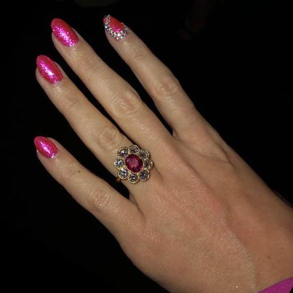 Katy Perry & Orlando Bloom engagement ring   Taylor & Hart's Blog