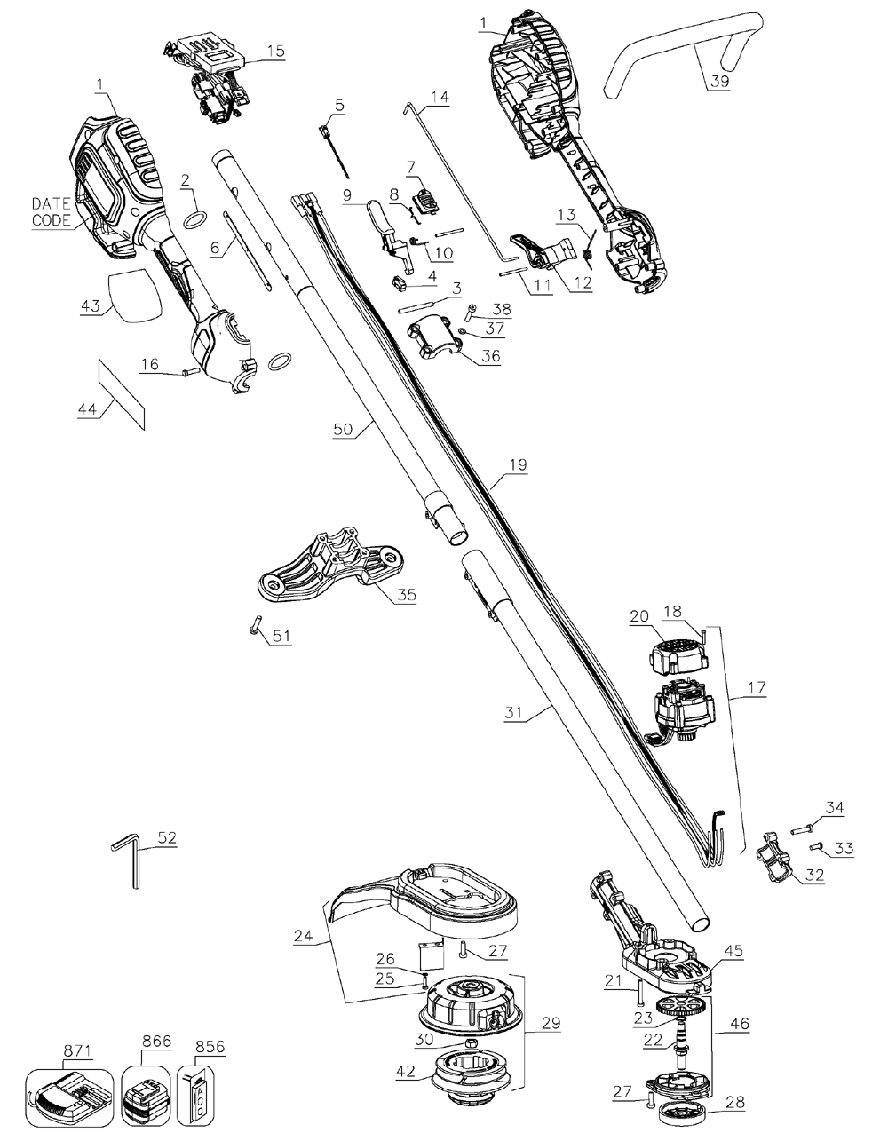 Weedeater Featherlite Fuel Line Parts Diagram Weed Eater