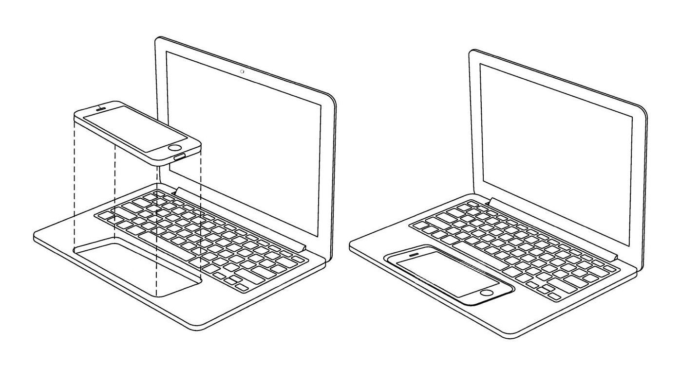 Apple 2017 iPhone iPad Laptop Patent