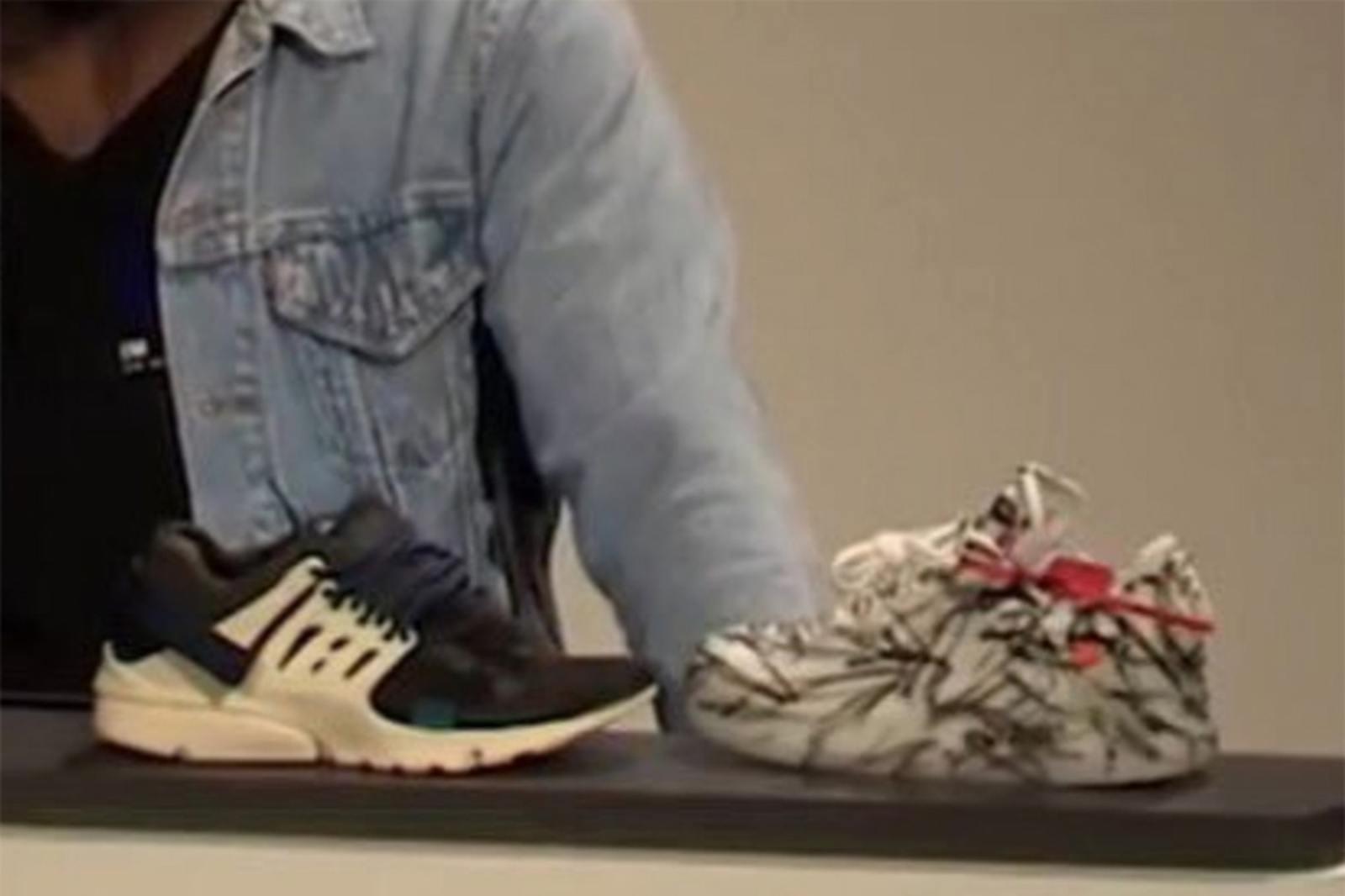 疑似 Virgil Abloh x Nike 新版 Air Presto 及 Air Force 1「The Ten」諜照曝光