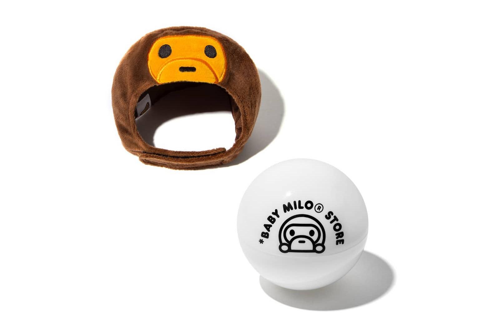 走進 A BATHING APE® 全新 Baby Milo 寵物系列香港 Pop-Up 店