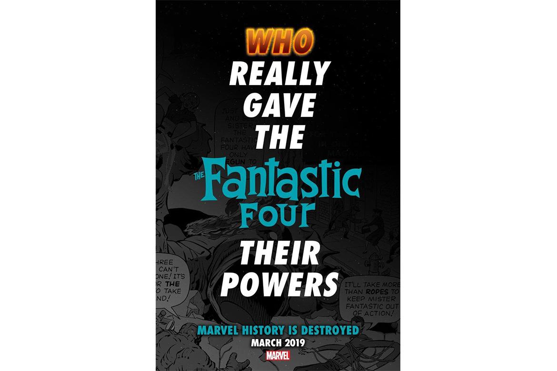 Marvel 计画重新编写《Fantastic Four》故事线
