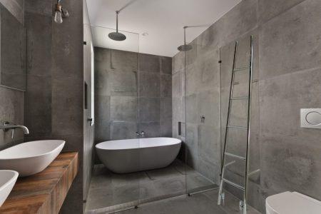 Mooihuis 2019 » betonverf aanbrengen op muur   Mooihuis