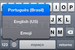 Photo of Digitando em Múltiplos Idiomas no iPhone