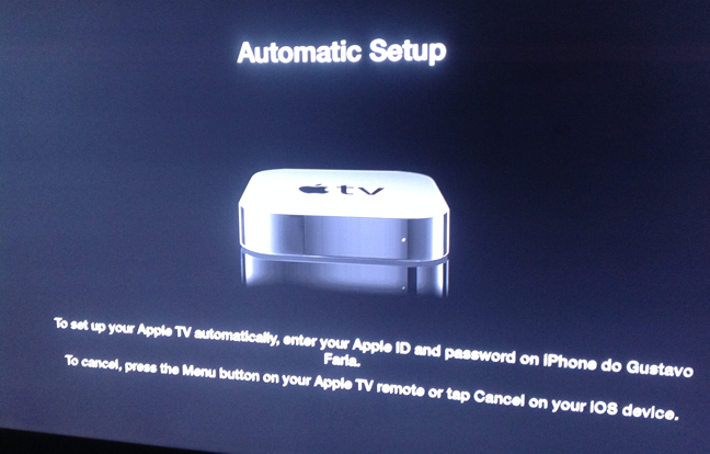 Photo of Configuração Automática do Apple TV é NFC ?! Bruxaria!!