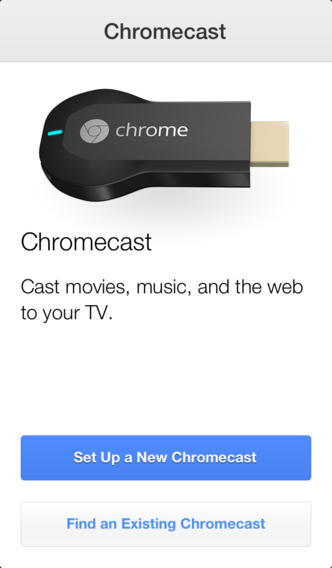 Photo of Chromecast.app para iOS na Área BR