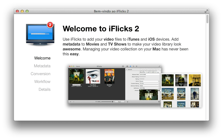 Photo of iFlicks 2 para Levar Vídeos ao iTunes