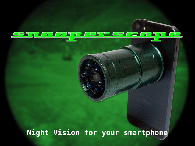 Photo of Snooperscope, Night Vision para iPhone/iPad