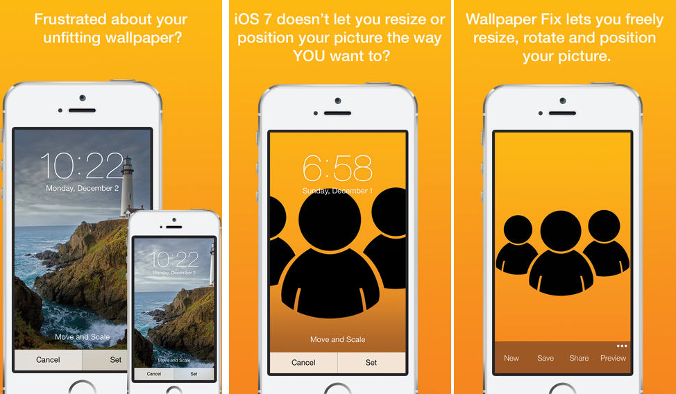 Photo of Wallpaper Fix, Fim do Zoom ao colocar Imagens de Fundo no iOS 7