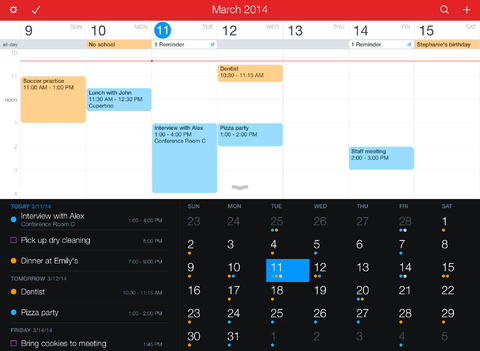 Photo of Fantastical 2 para iPad na Área